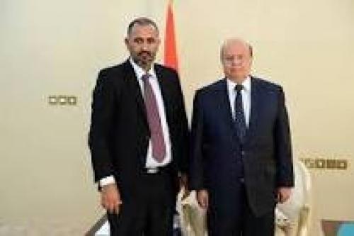 الإعلان عن لقاء مرتقب بين الرئيسين هادي والزبيدي بالرياض