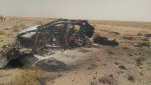 انفجار عنيف شمال مدينة عدن ومصادر تؤكد سقوط عدد من الضحايا (صور)