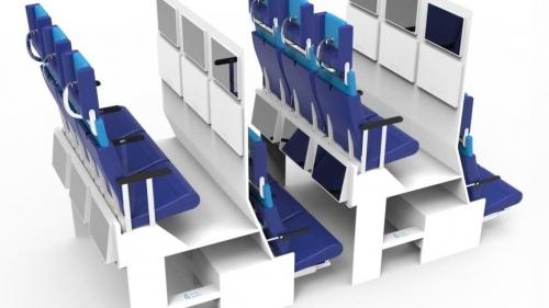شاهد كيف ستكون رحلات السفر بالمستقبل.. داخل الطائرة