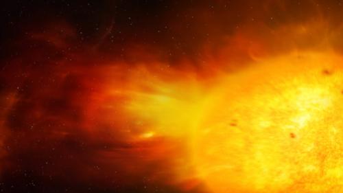 """عاصفة شمسية """"عالية السرعة"""" قد تضرب الأرض اليوم!"""