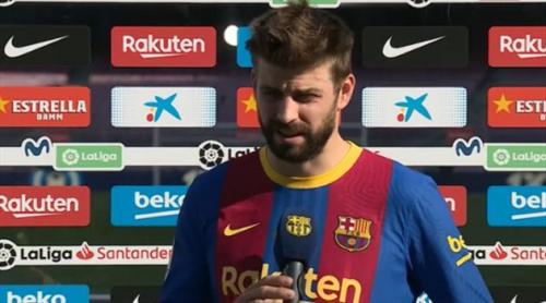 """""""بعد التهديد بطرده"""".. قرار ناري من بيكيه للاستمرار مع برشلونة"""