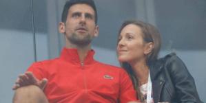 """جوكوفيتش وزوجته.. النبأ السعيد """"لم يتأخر"""""""