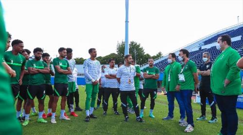 بحضور وزير الرياضة.. الأخضر الأولمبي يختتم تدريباته استعدادا لمواجهة كوت ديفوار