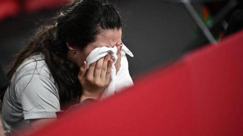 خروج السورية ظاظا أصغر مشاركة في أولمبياد طوكيو