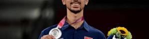 """صاحب أول ميدالية عربية في طوكيو 2020.. من هو الجندوبي؟ """"صور"""""""