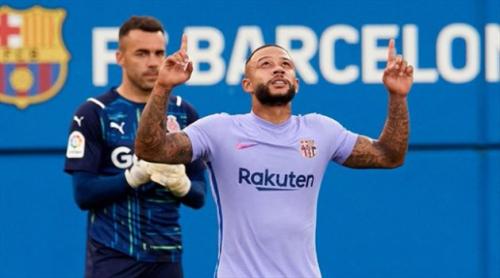 """ديباي يعلق على أول مشاركة مع برشلونة.. ويؤكد: """"شعور مذهل"""""""
