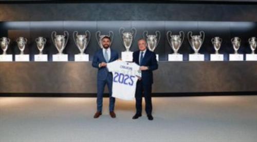 رسميا.. ريال مدريد يعلن تجديد عقد داني كارفاخال لثلاثة مواسم