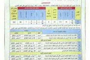 """وزارة التربية والتعليم تعلن موعد التسجيل والدراسة """"للعام الجديد"""""""