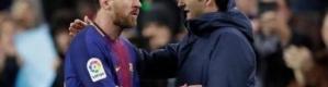 مدرب برشلونة: علينا التعود على اللعب بدون ميسي