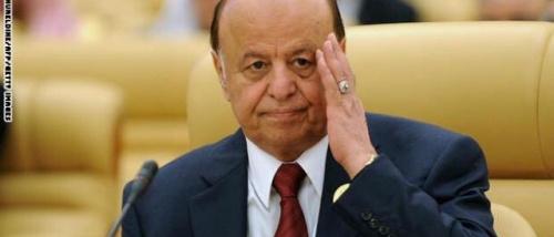 صحيفة إماراتية: غياب هادي عن أحداث عدن العاصفة يؤذن بانتهاء دوره