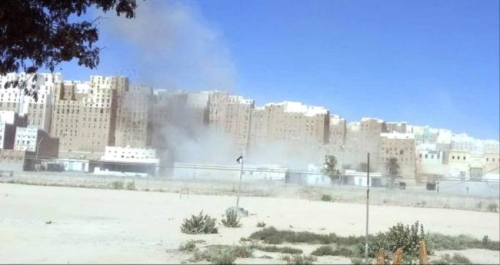 عناصر مسلحة تقتحم مدينة شبام التاريخية بوادي حضـرموت وتزيل اعلام الجنوب