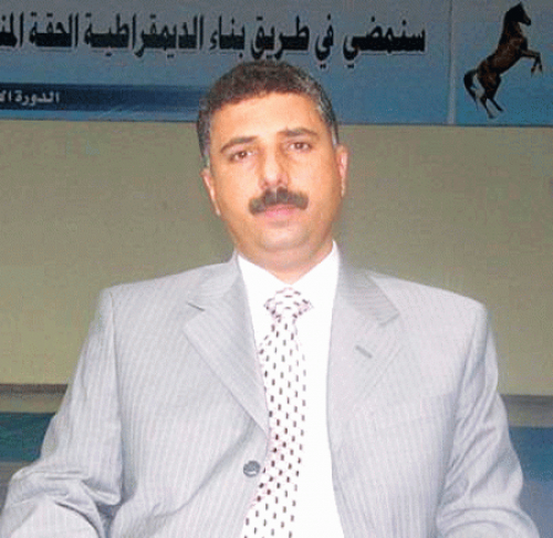 من هو طارق الشامي العفاشي الذي تحوث ؟!
