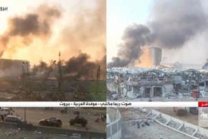 شاهد : مراسلة العربية تنهار بعد تدمير منزلها في انفجار بيروت.. وتكشف ما حدث لوالدتها