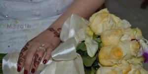 عروس لبنانية ليلة زفافها تهتز بيروت بالانفجار وهذا ما فعله عريسها في اللحظة الحاسمة!