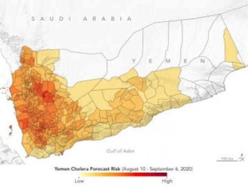 """""""ناسا"""" تحذر من موجة تفشي ثانية لوباء الكوليرا في اليمن"""