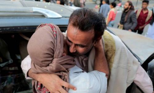 تبادل أسرى بين الحكومة اليمنية والحوثيين في الجوف