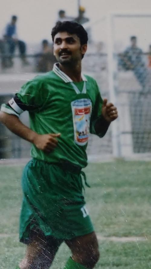 (العقاب) اسعد محمد عبده: سجلت هدفين باول مباراه لي مع المجد ومشكلة غياب الهدافين برزت في الآونه الاخيره.