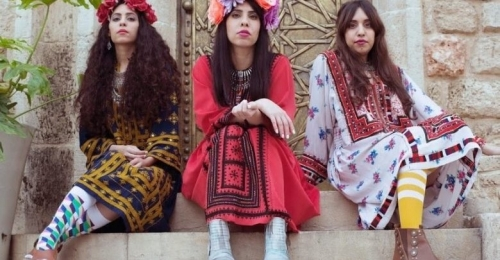 """شاهد :  فرقة """"A-WA"""" المؤلفة من ثلاث شقيقات إسرائيليات من أصول يمنية"""