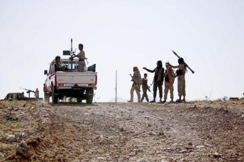 تعز ..اللواء 35 مدرع يحبط هجوما لمليشيات الحوثي جنوب شرق المحافظة