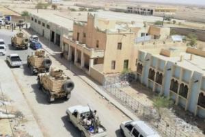  رتل من المدرعات والاسلحة الثقيلة تصل الى محافظة جنوبية تحسبا لساعة الصفر