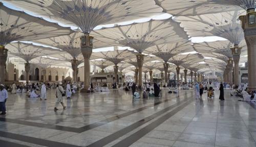 شاهد: شركة أمريكية تتحدث عن مظلات ساحات حرم المسجد النبوي وإمكانياتها بطريقة مبهرة