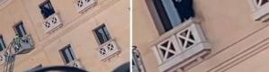 شاهد: فتاة تحاول الانتحار من شرفة فندق في الدمام
