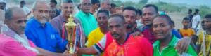 شباب الصومال يفوز على قدامى دار سعد في مباراة تكريم حامد الشاطري