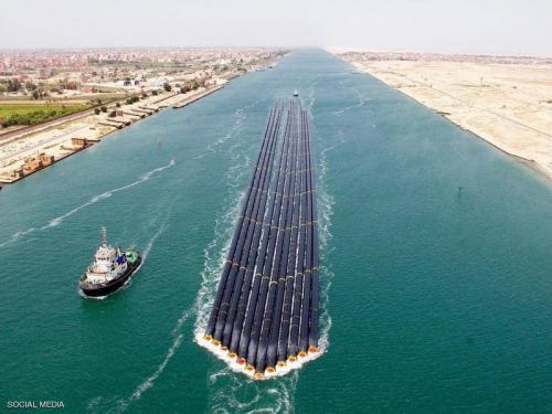 من رأس الرجاء الصالح إلى مصر.. عبور تاريخي بقناة السويس