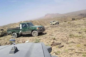 شاهد غنائم الحوثيين في مأرب (صورة)