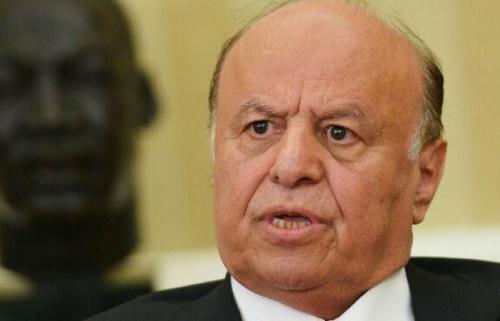 مصادر صحفية: هادي يقبل بالتنحي عن الرئاسة لصالح هذه الشخصية بعد ضغوط اميركية