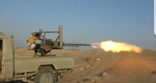 هجوم حوثي مزدوج على مواقع المدنيين في الحديدة