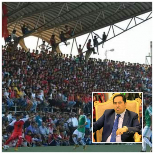 الوزير نايف البكري يشيد بالزخم الجماهيري وقوة المنافسة في بطولة (14أكتوبر) لكرة القدم