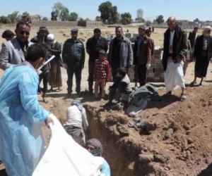 الحوثي يتخلص من 750 جثة ويزعم أنها لمجهولين
