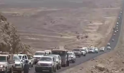 تحذير للمغتربين اليمنيين من المرور من هذه الطريق الخطيرة