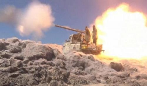 """تعرف على المناطق التي وصل إليها الحوثيون ومناطق تمركز الجيش الوطني حاليا في مديرية الجوبة بمأرب""""خريطة"""""""