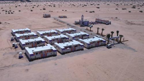 الكويت تفتتح قرية سكنية جديدة للنازحين بمحافظة مأرب