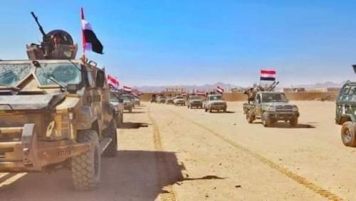 عاجل ..  انباء عن دحر الحوثي من مناطق واسعة في بيحان بمحافظة شبوة