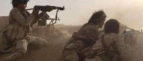 بالفيديو .. تفاصيل المعارك الدائرة في الجوبة بين ابطال الجيش الوطني ومليشيا الحوثي