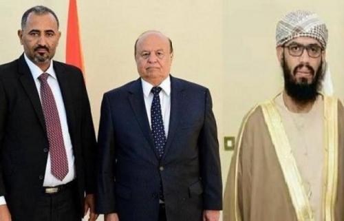 """صحيفة الشرق الأوسط السعودية تكشف عن تفاصيل اللقاء بين الرئيس """"هادي"""" والانتقالي في الرياض"""