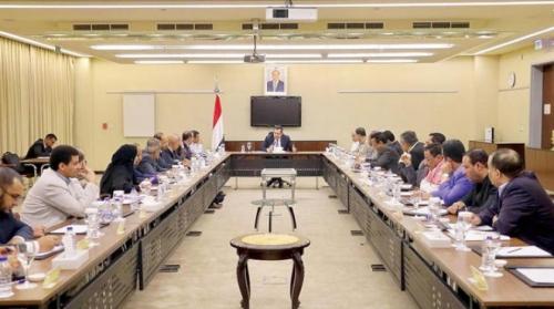 في اجتماع ملتهب  للحكومة عبدالملك ابلغهم بعدم استطاعة أي وزير النزل لعدن وممارسة مهامه