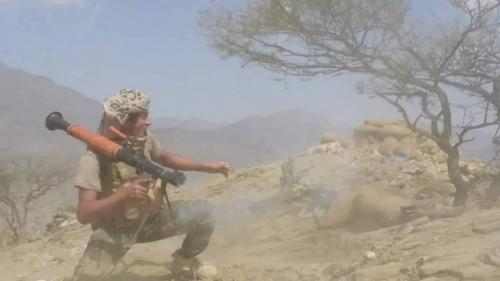 صقور اليمن يسيطرون على سلاسل جبلية في معقل جماعة الحوثي بصعدة - تفاصيل