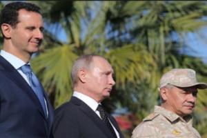 روسيا تسرب صورة مهينه ومذله لـ الأسد.. وفيصل القاسم يخرج عن طوره بتعليق غير مسبوق - شاهد