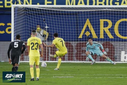 صورة: ريال مدريد يتعرض لظلم تحكيمي ضد فياريال
