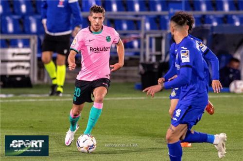برشلونة يعلن مدة غياب سيرجي روبيرتو