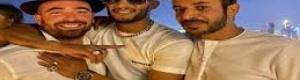 المطرب الإسرائيلي الذي احتضنه محمد رمضان يفضحه مع حمد المزروعي ويكشف سرّ الصورة التي جمعتهم