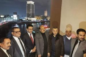 مادبة عشاء علي محسن الاحمر للسفيرمحمد مارم بالقاهرة تثير سخط نشطاء مواقع التواصل الاجتماعي