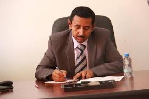 محافظ شبوة يرفع بلاغ إلى رئيس الجمهورية بشأن القوات الاماراتية في بلحاف