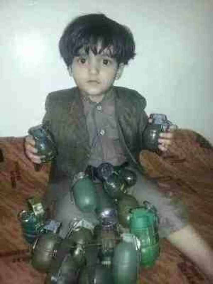 شاهد الصورة المؤلمة التي أفزعت العالم على الشعب اليمني وعلى أطفاله الأبرياء