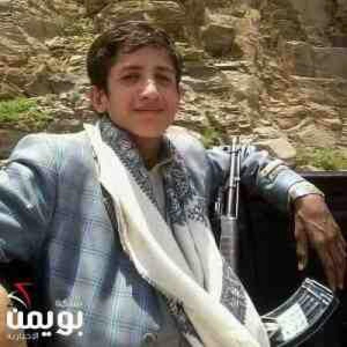 شاهد صورة اصغر قيادي حوثي مقرب من زعيم الجماعة قتل اليوم في تعز