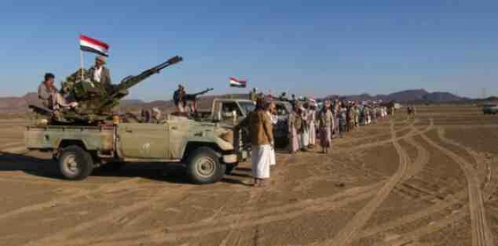 قوات مؤللة ضخمة تعبر الحدود وتصل مارب